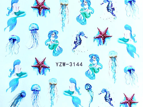 Water Decall YZW-3144