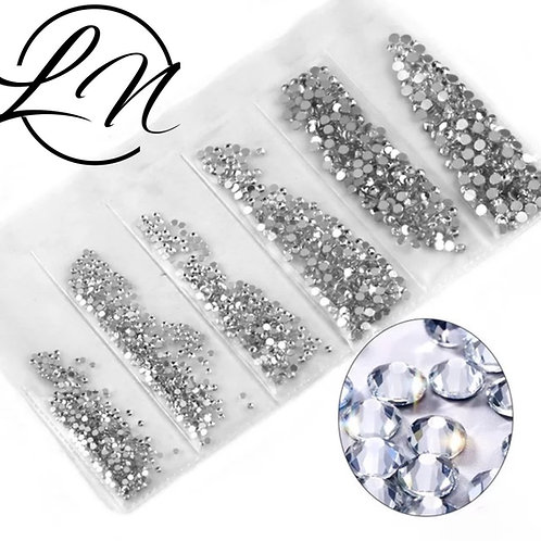 strass cristal Clear