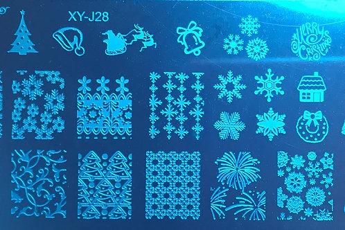 Plaque Noel 28