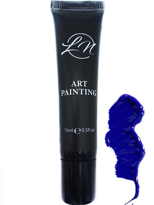 Gel Art Painting Blue