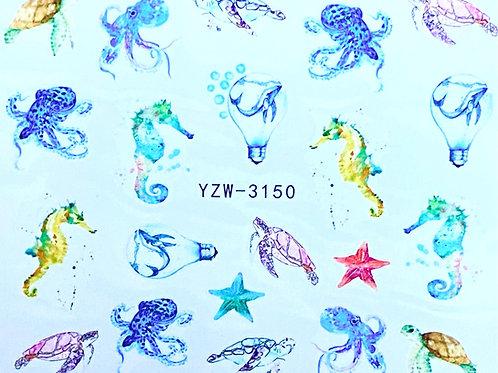 Water Decall YZW-3150