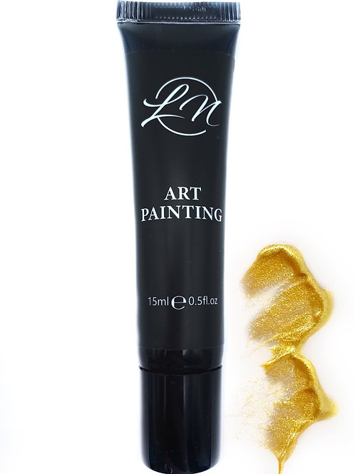 Gel Art Painting Gold