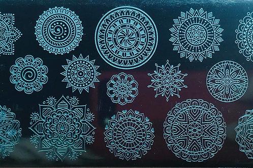 Plaque Mandala