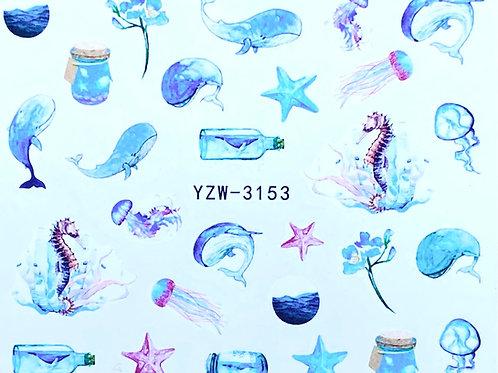 Water Decall YZW-3153