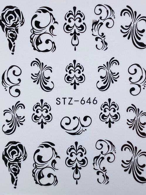 Water Decall STZ-646