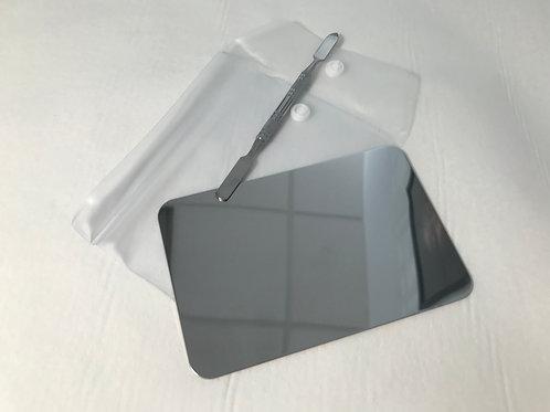 Palette nail art et spatule