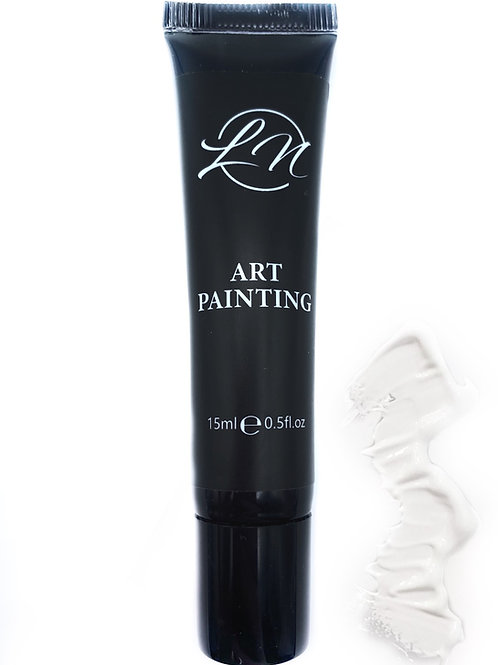 Gel Art Painting White