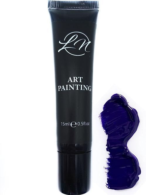 Gel Art Painting Purple Dark
