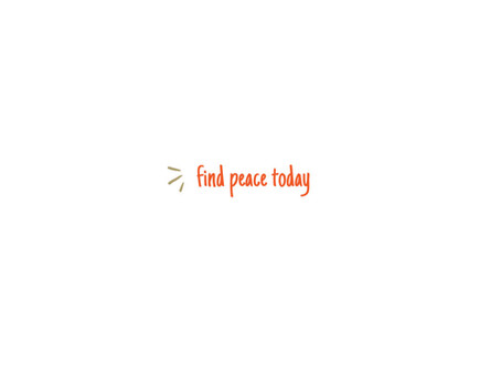 find peace today