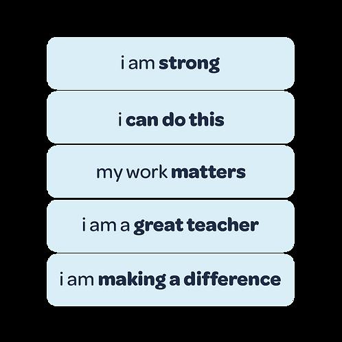 'my work matters' vinyl stickers