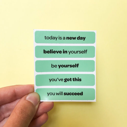 'you've got this' vinyl stickers