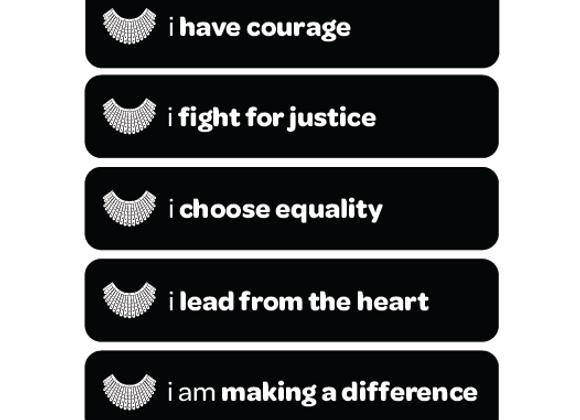 i have courage: RBG-inspired kit