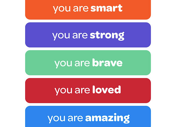 you are amazing | affirmation stickers