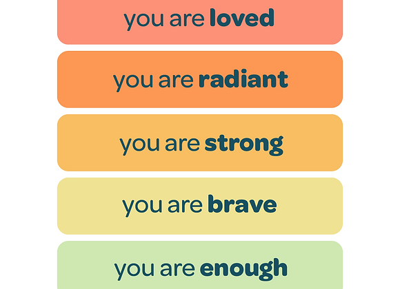 the pilot kit | affirmation stickers