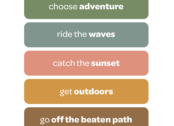 choose adventure | affirmation stickers