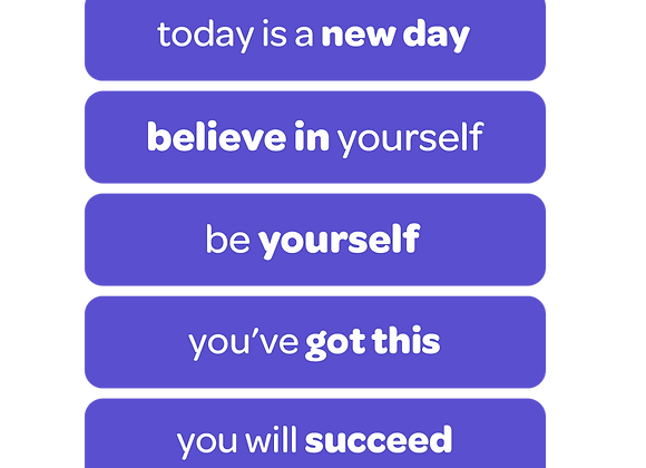 you can do this | affirmation stickers for students