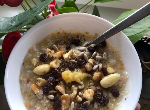 Oats and Quinoa Porridge