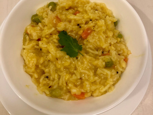 Khichadi (Rice and Lentil Stew)