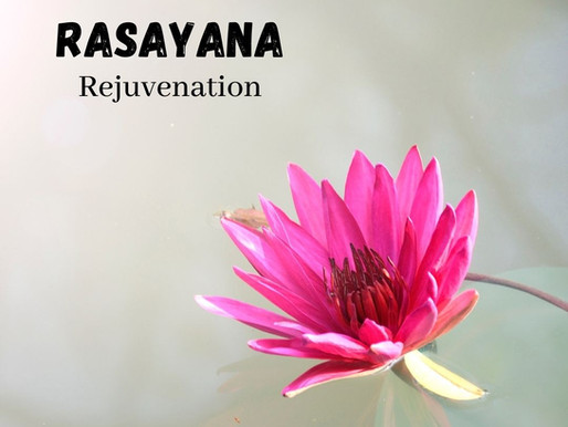 Rasayana - Rejuvenation