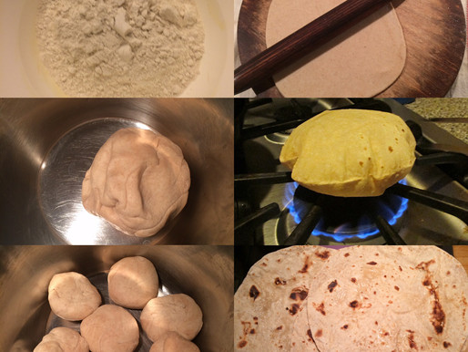 CHAPATI- Whole wheat bread