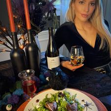 Creepy Vampire Heart Salad