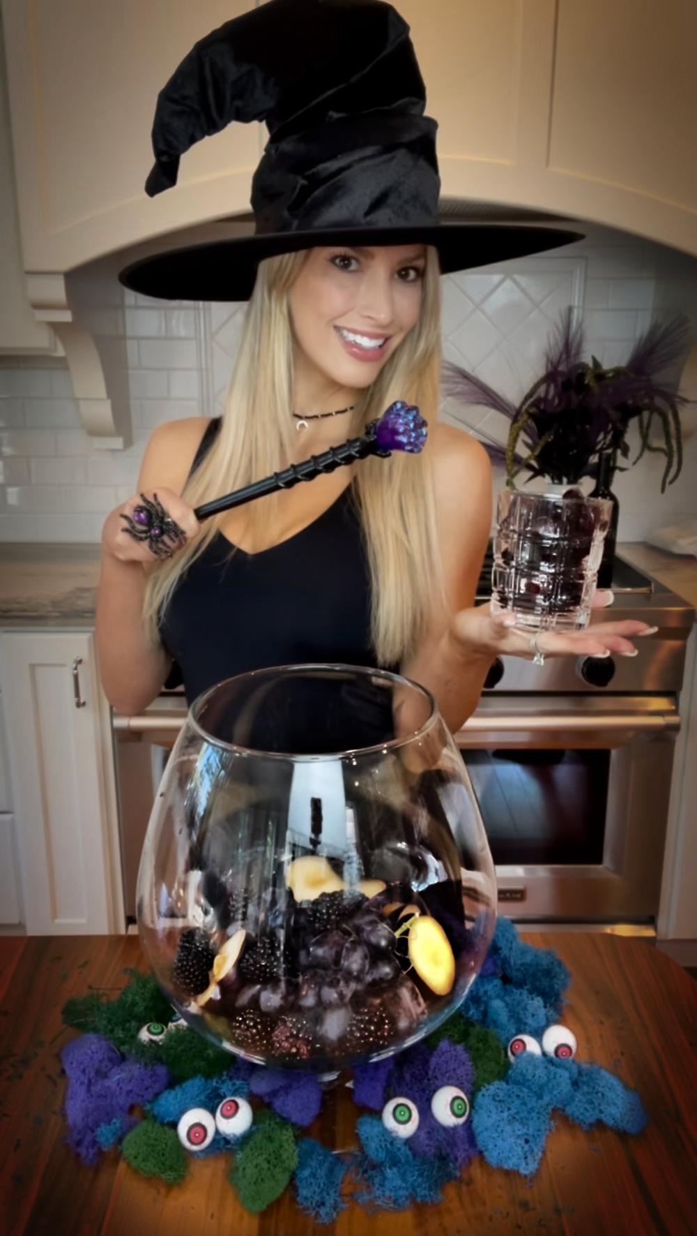 Creepy Halloween Drink Idea