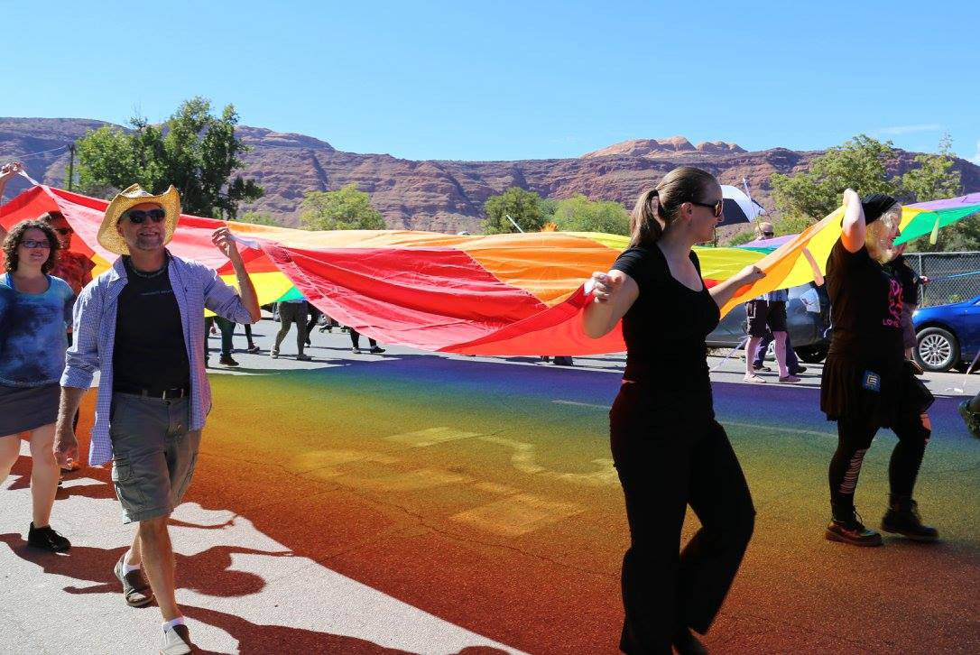 2015 Moab Pride Festival visibility march