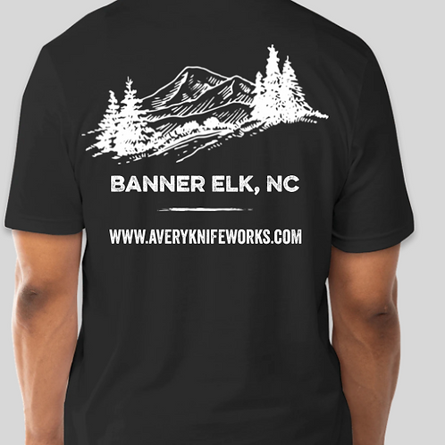 Banner Elk Store T-Shirt-Vintage Black