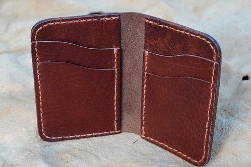 Vertical Wallet - Horween Chromexcel