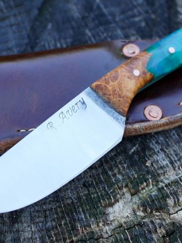Evans blue Hunter