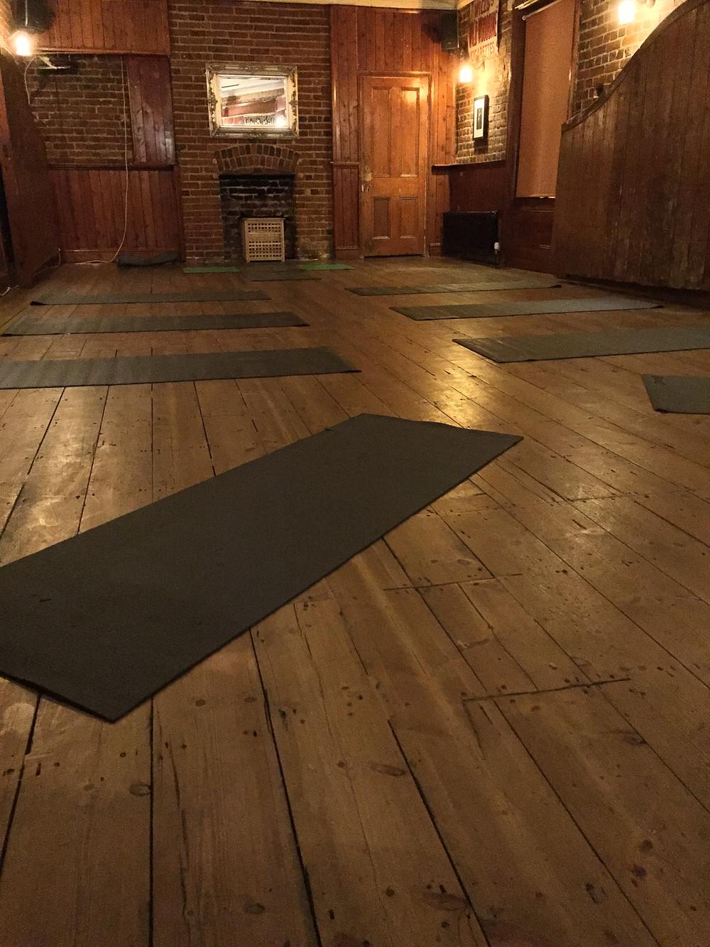Yoga in the Tavern