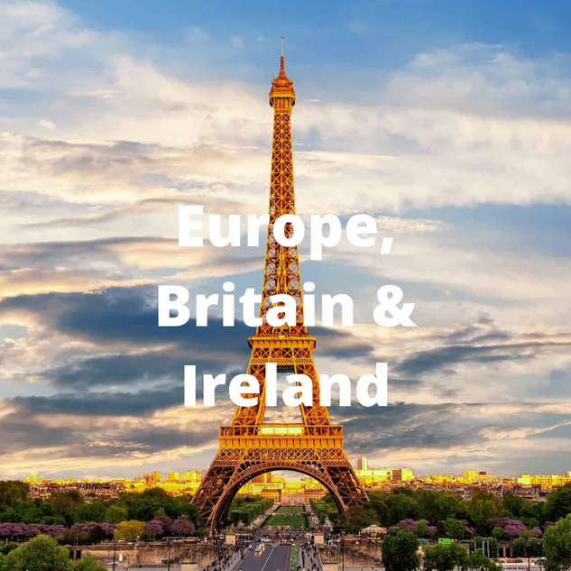 Europe, Britain & Ireland