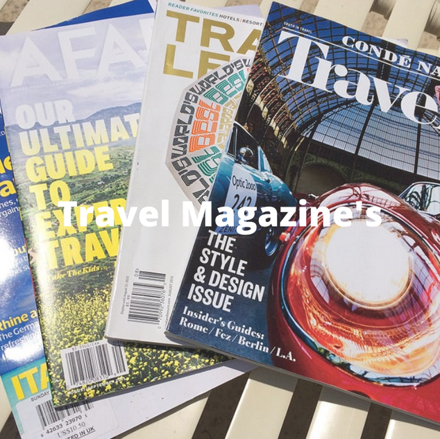 Travel Magazine's and other