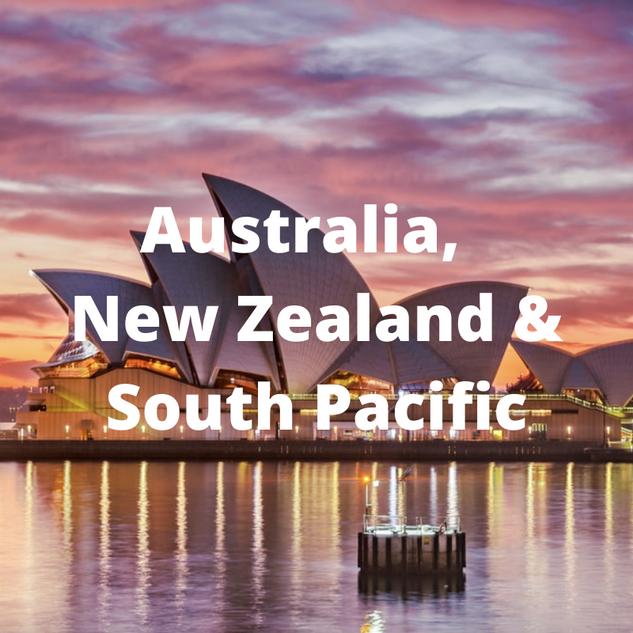 Australia, New Zealand, & South Pacific