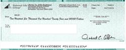 sample claim check III