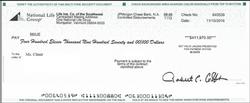 sample claim check I