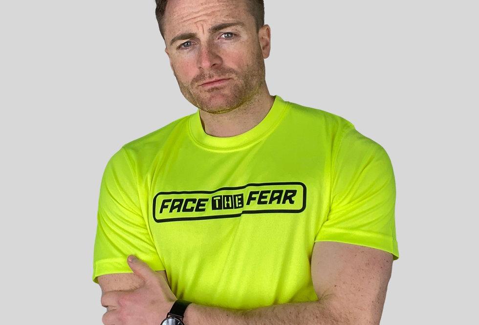 Men's Neon Training T-Shirt - Electric Yellow