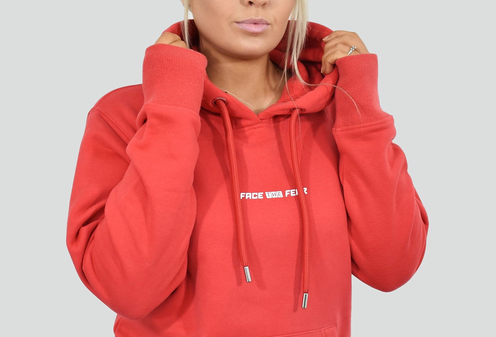 Women's Organic Lux Hoodie - Red