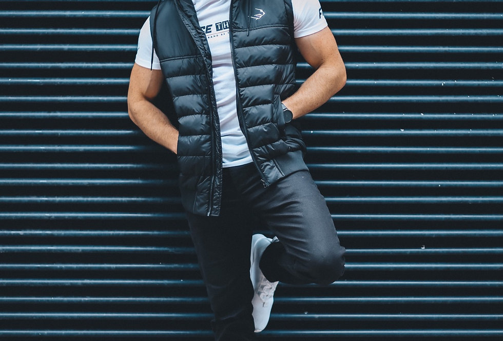Men's Street Body Warmer - Black