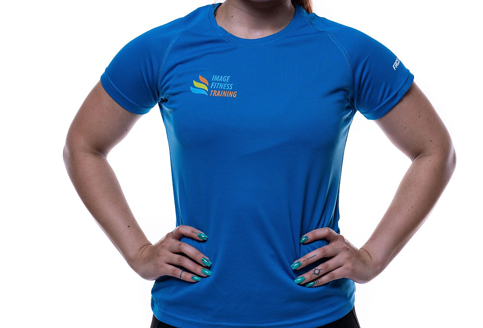 IF Women's Performance T-Shirt - Sapphire