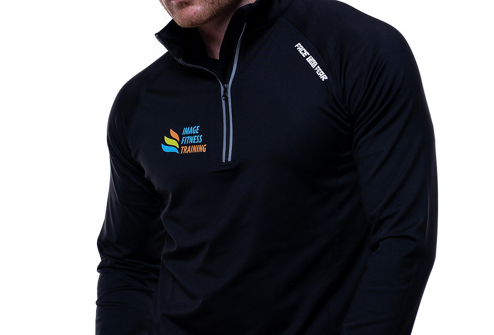 IF Men's Ultimate Flex 1/2 Zip - Jet Black