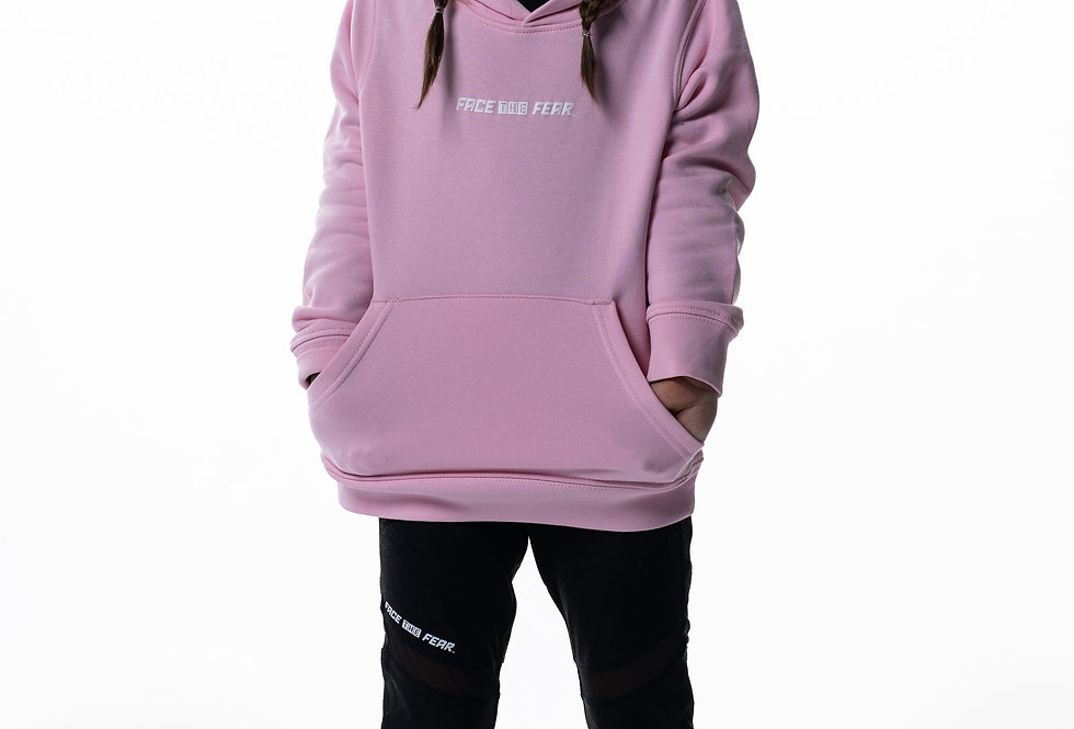 Kids Iconic Hoodie - Candyfloss Pink