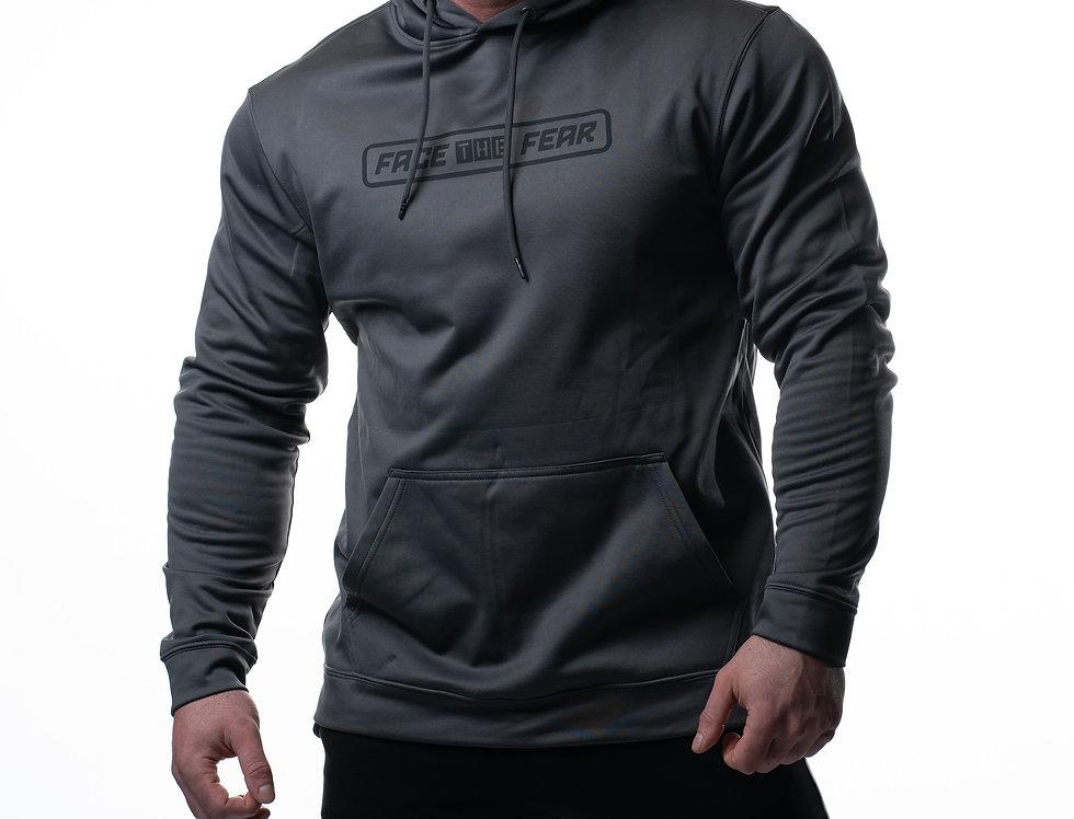 Men's Sports Hoodie - Steel Grey
