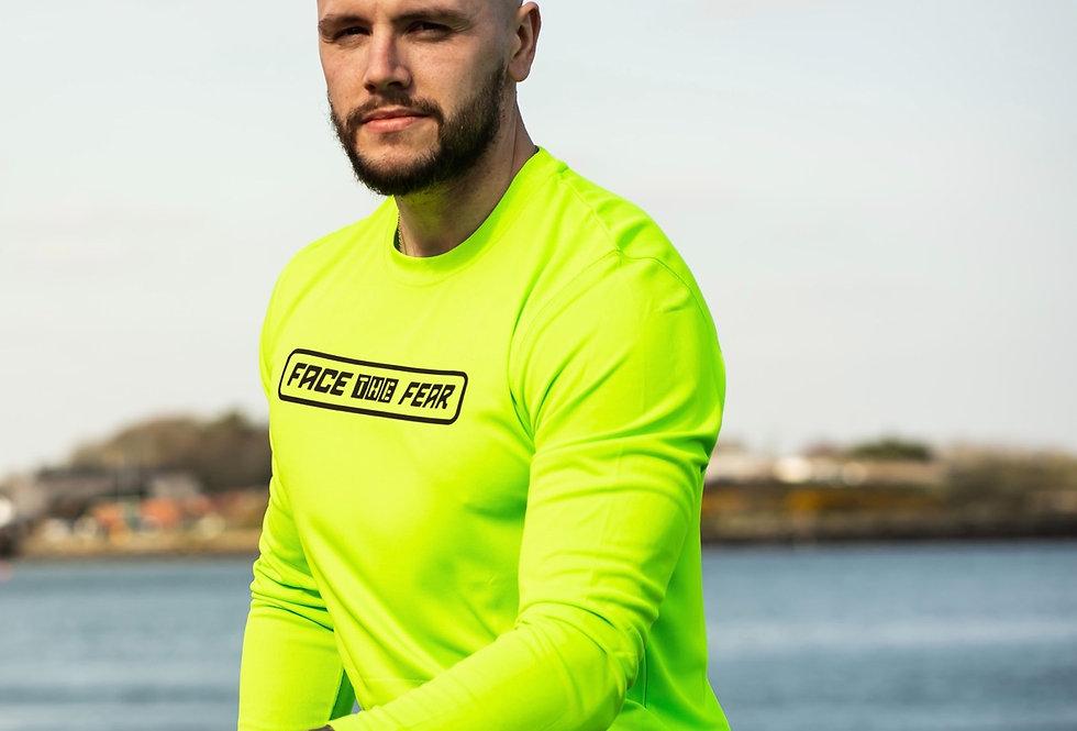 Men's Neon Long Sleeve - Neon Yellow