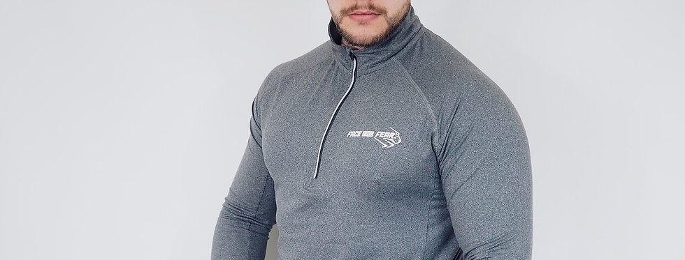 Men's Performance 1/2 Zip - Charcoal