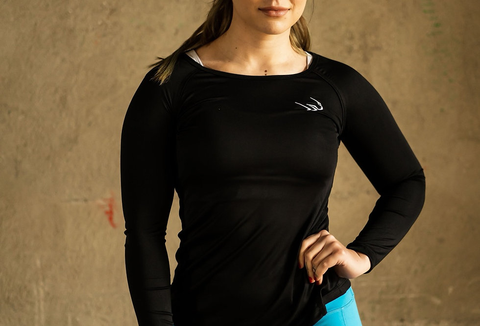 Women's Performance Long Sleeve - Black