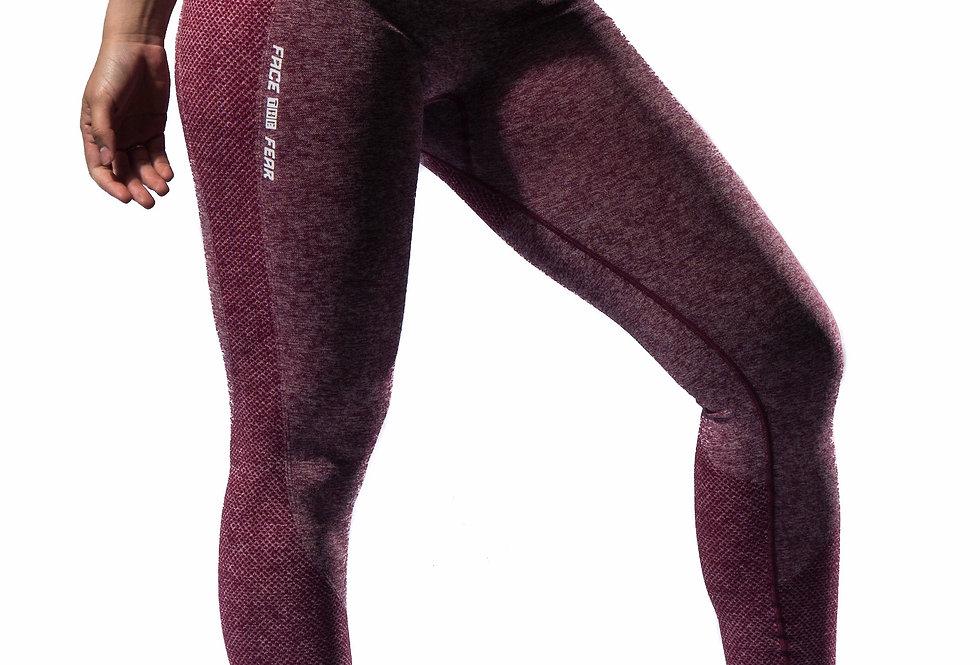 Women's Multi-Sport Sculpt Leggings - Burgundy