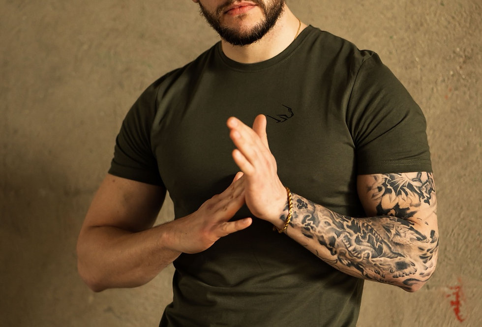 Men's Premium T-Shirt - Military Green