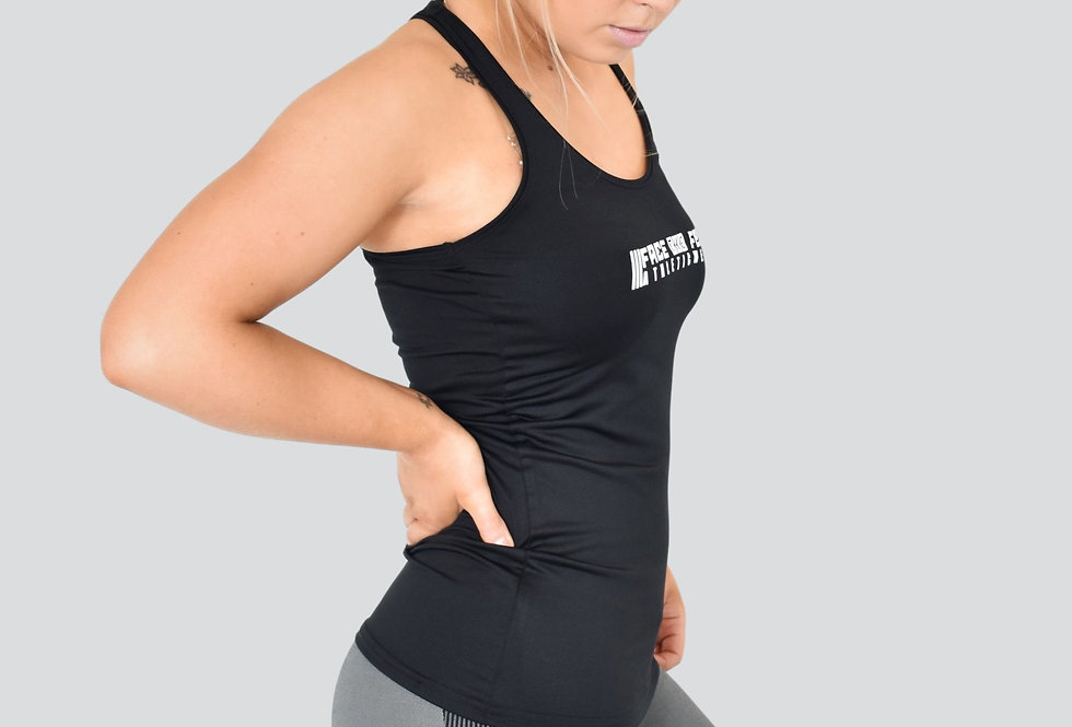 Women's Racerback Vest - Black