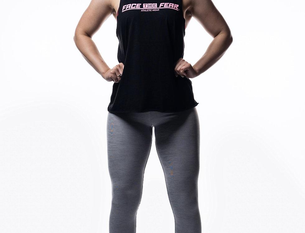 Workout Leggings - Silver Grey